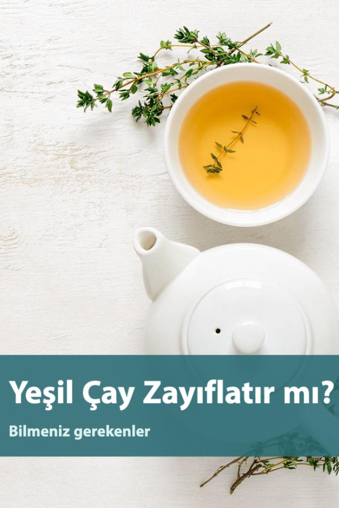 Yeşil Çay Zayıflatır Mı? Günlük Ne Kadar Yeşil Çay Tüketmelisiniz?